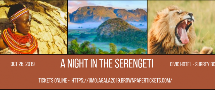2019 Umoja Gala -A Night in the Serengeti